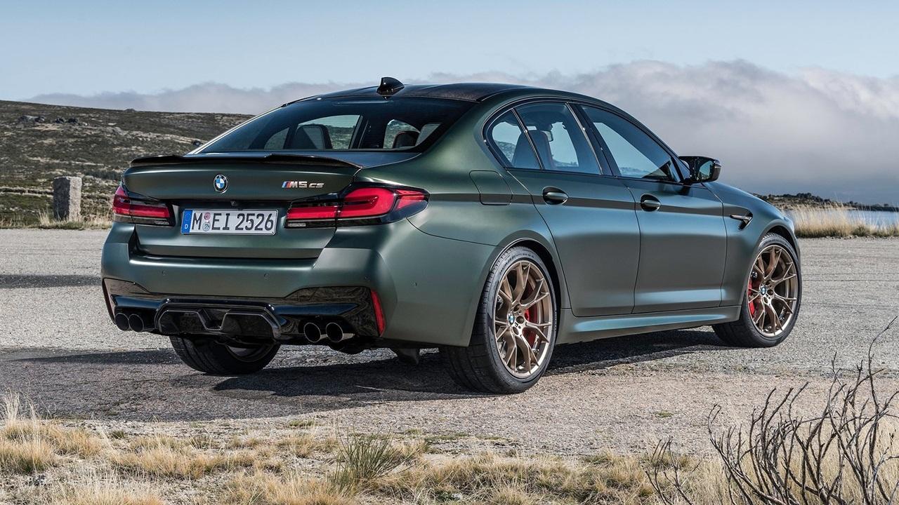BMW M5 CS - posterior