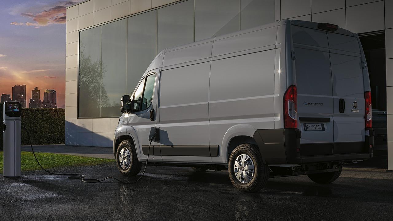 Precios del FIAT E-Ducato, la nueva furgoneta eléctrica inicia su venta en España