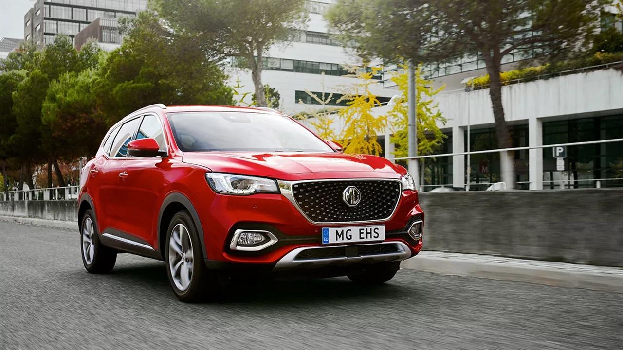 Precios del MG EHS, el SUV híbrido enchufable llega a España