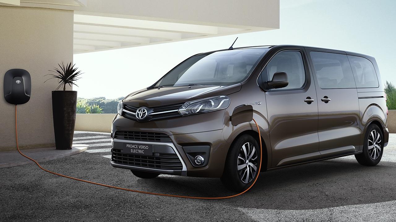 Toyota Proace Verso Electric, precios y gama de la nueva furgoneta eléctrica