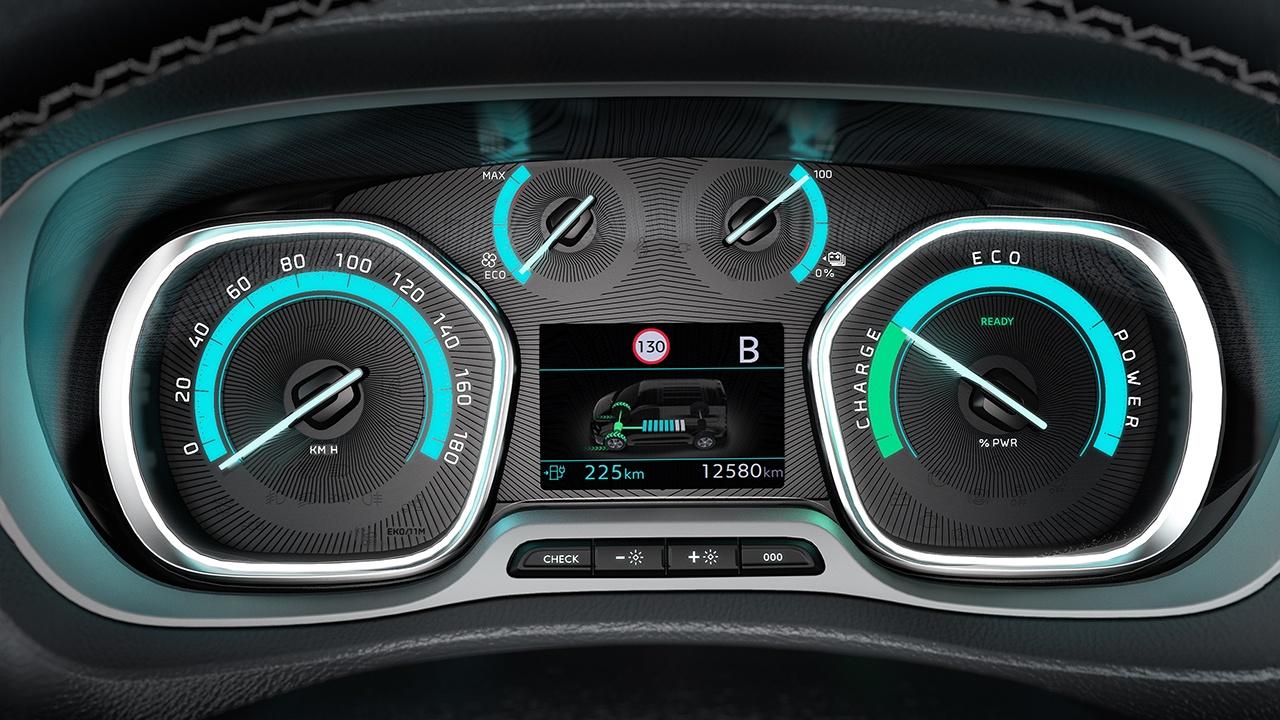Toyota Proace Verso Electric - cuadro de instrumentos