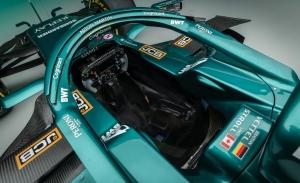 Así es el nuevo Aston Martin AMR21 de Vettel y Stroll