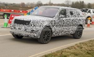 Los prototipos del Range Rover LWB 2022 pieden camuflaje en primavera
