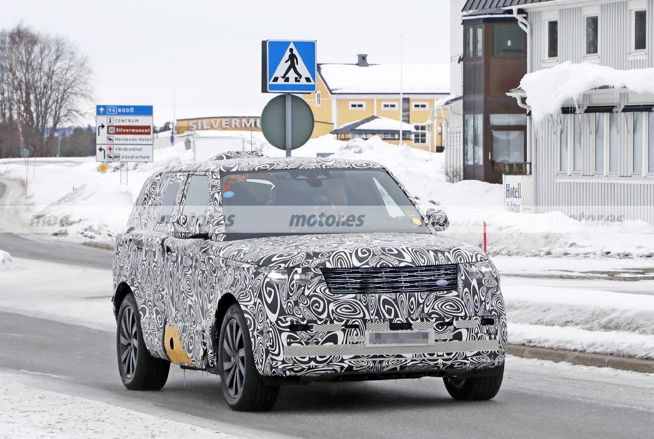 El Range Rover 2022, de batalla corta e híbrido enchufable, se presenta en fotos espía