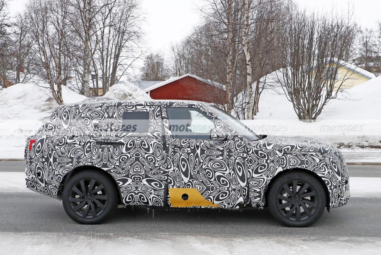 Foto espía Range Rover 2022 - exterior
