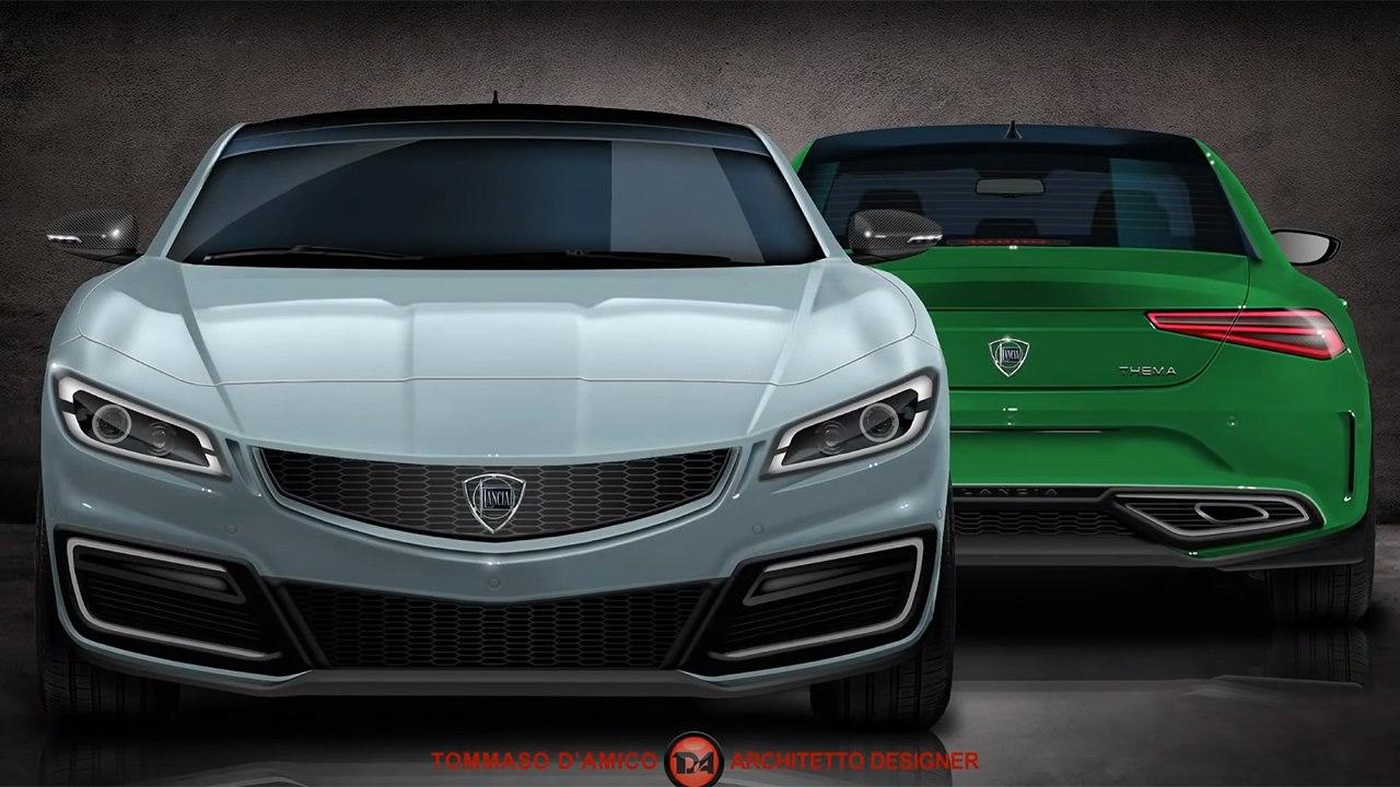 ¿El regreso del Lancia Thema? Imaginando una nueva generación de la berlina italiana
