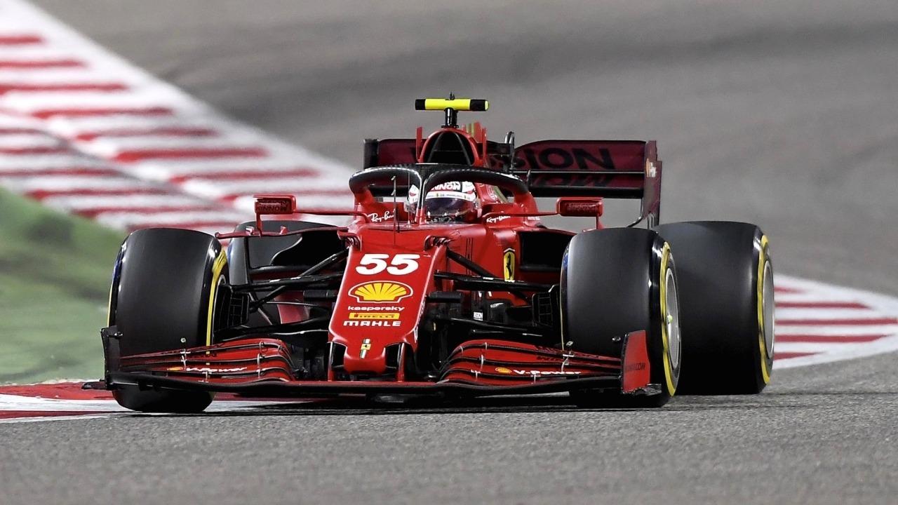 Sainz suma sus primeros puntos con Ferrari: «Muy contento con mi ritmo»