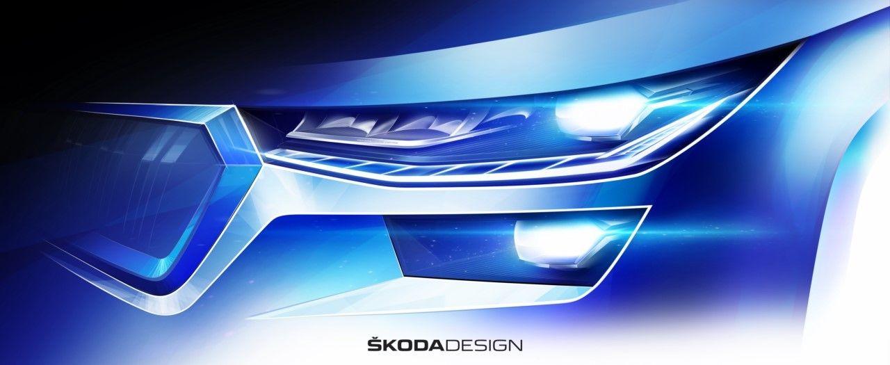 Teaser Skoda Kodiaq 2021