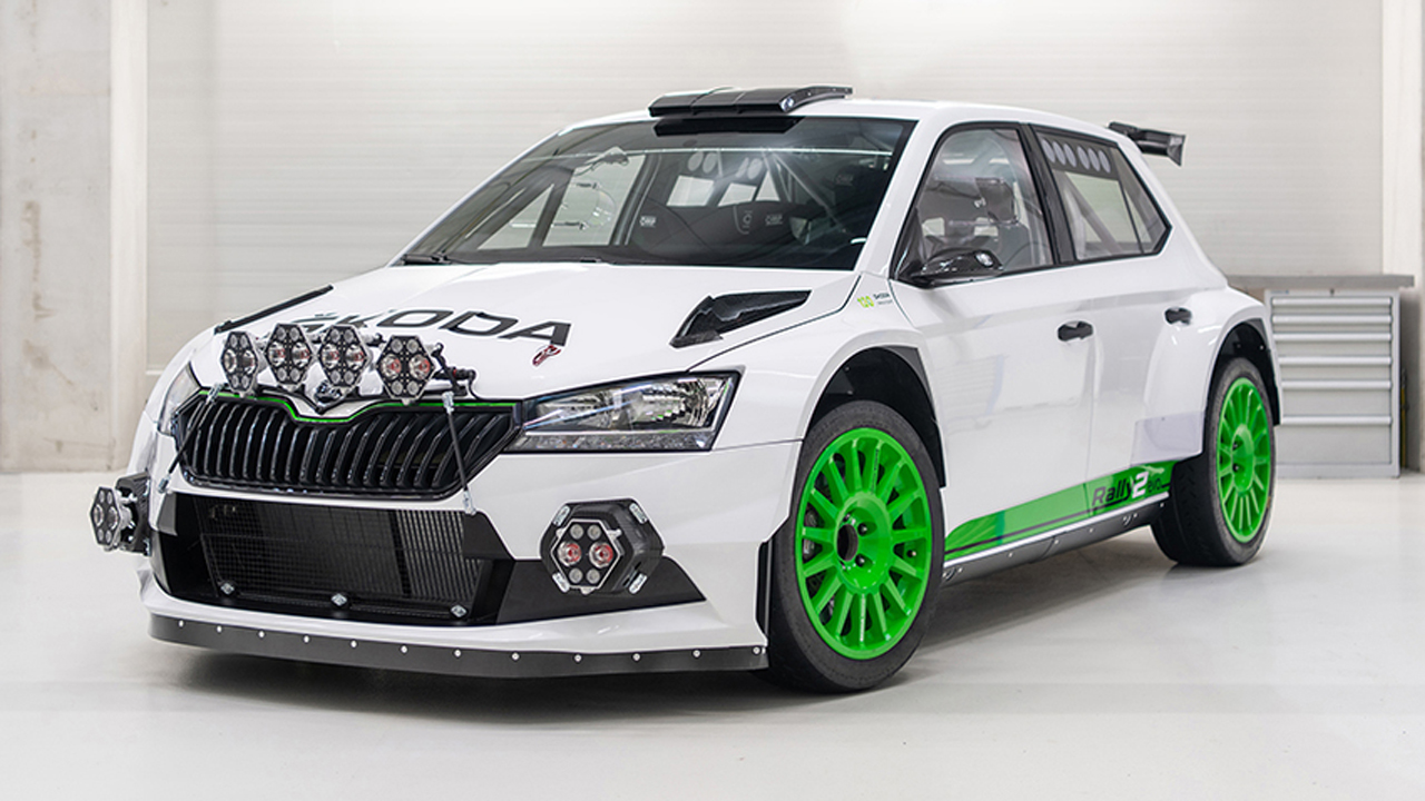 Skoda Motorsport sorprende con el Skoda Fabia Rally2 Evo Edition 120
