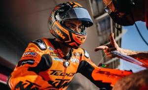 Las tormentas de arena arruinan el último día de test de MotoGP en Qatar