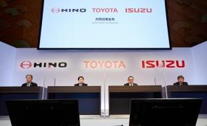 Toyota e Hino Motors colaborarán con Isuzu en vehículos comerciales ligeros