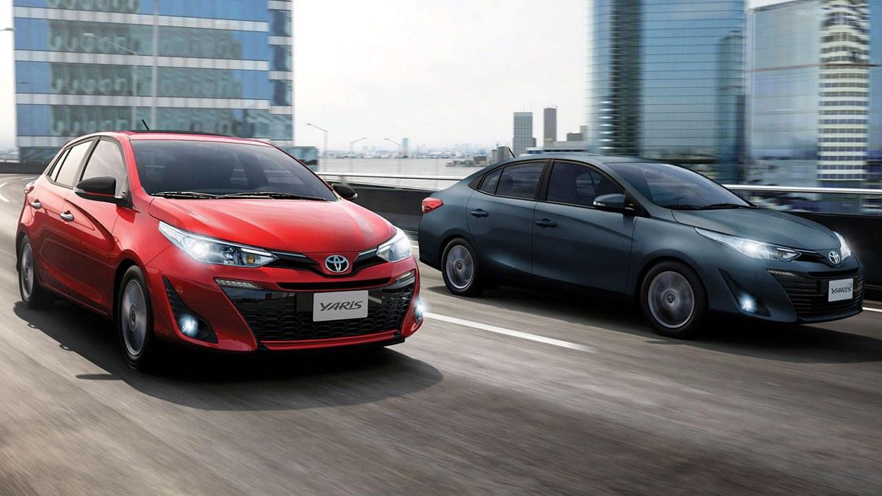 Argentina - Febrero 2021: El Toyota Yaris se mantiene en el Top 10