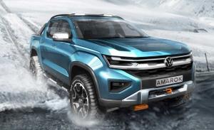 Volkswagen lanza un nuevo boceto del futuro y agresivo Amarok