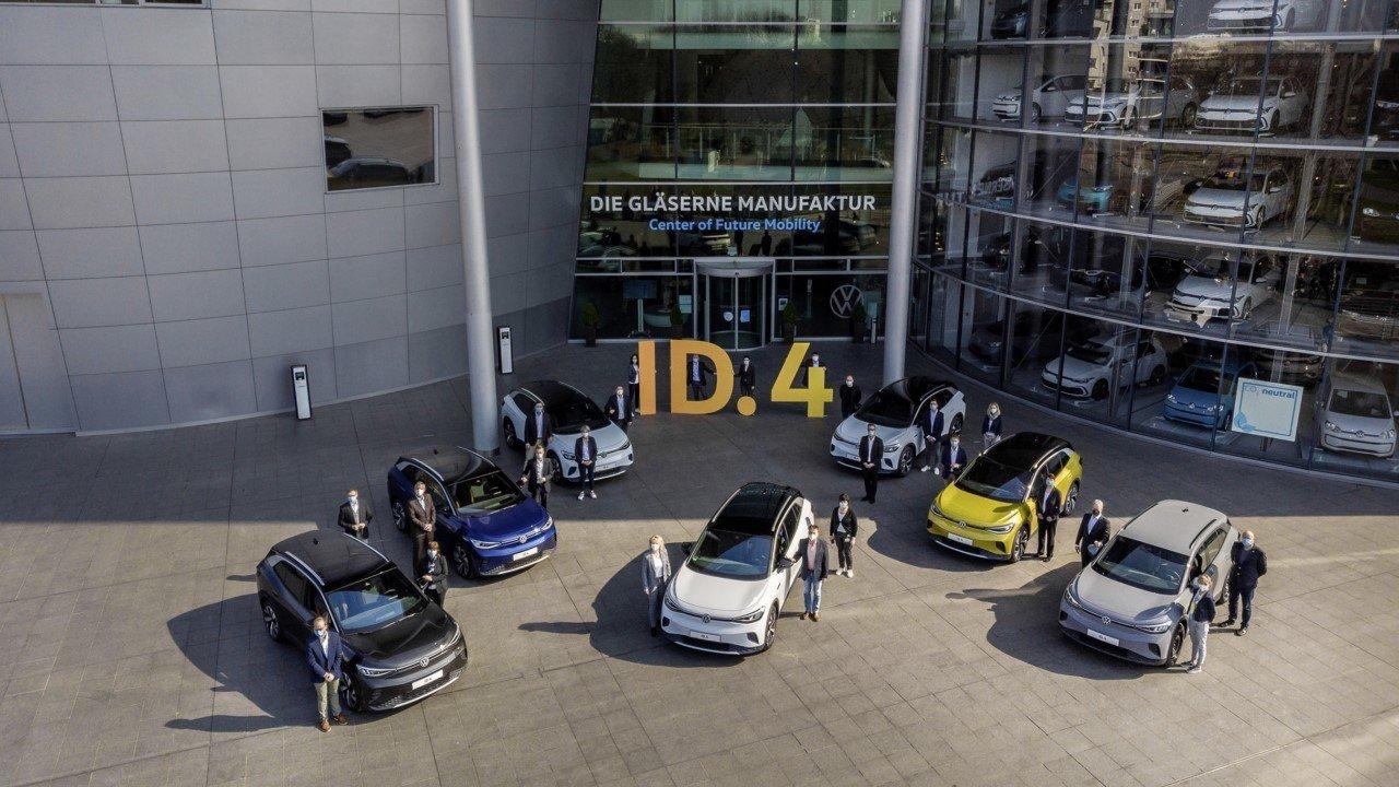 Arrancan las entregas del nuevo Volkswagen ID.4 en Alemania