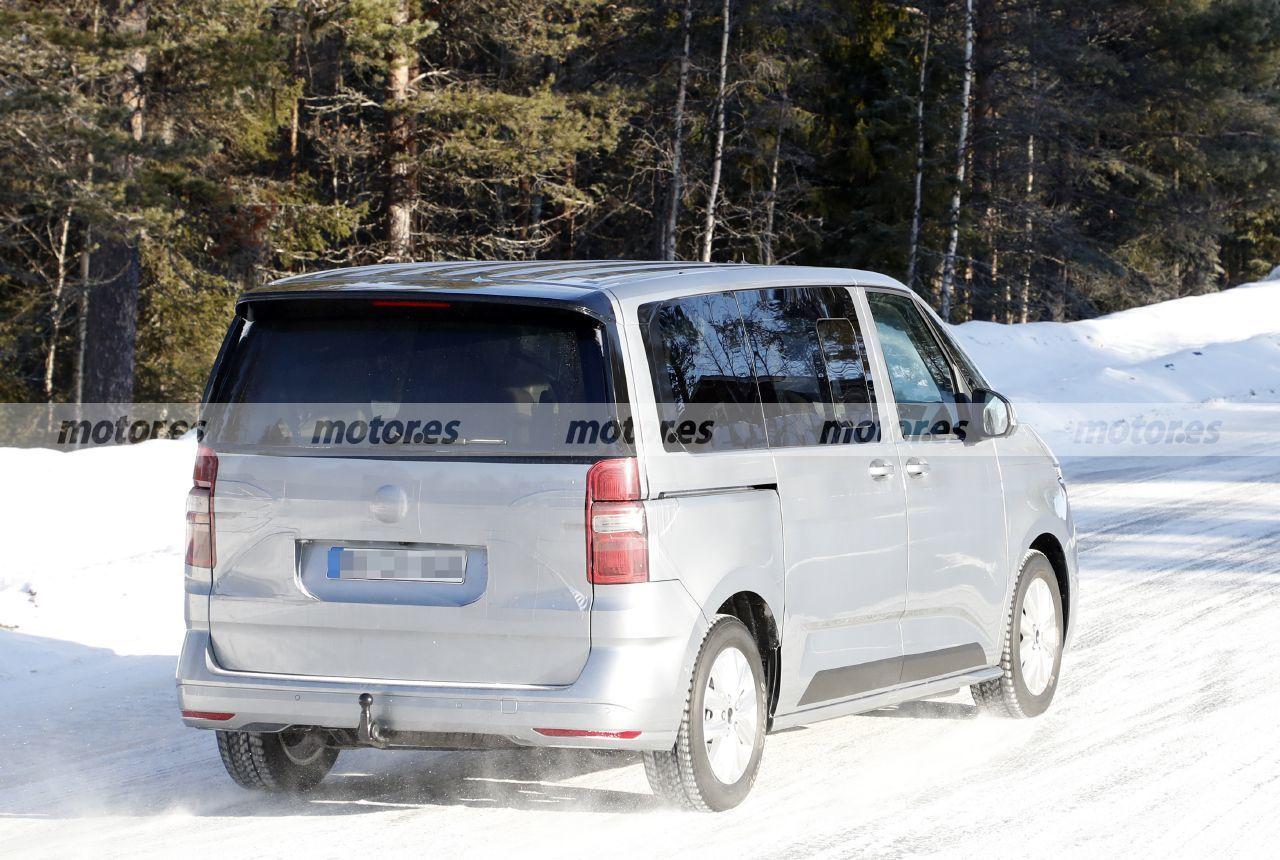 Foto espía Volkswagen Multivan - exterior