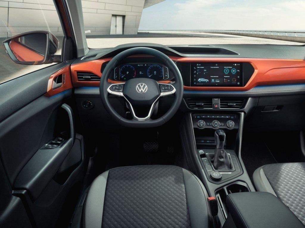 Foto Volkswagen Taos para Rusia - interior