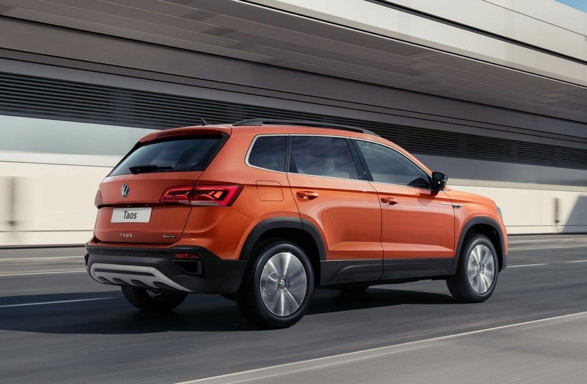 Foto Volkswagen Taos para Rusia - exterior