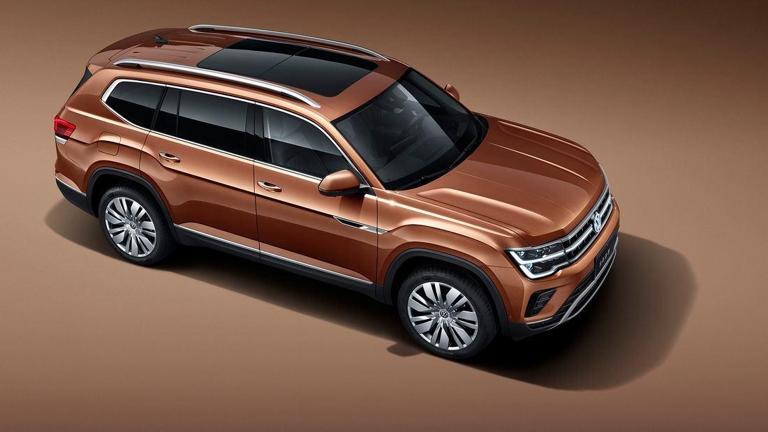 Foto Volkswagen Teramont Facelift 2021 - exterior