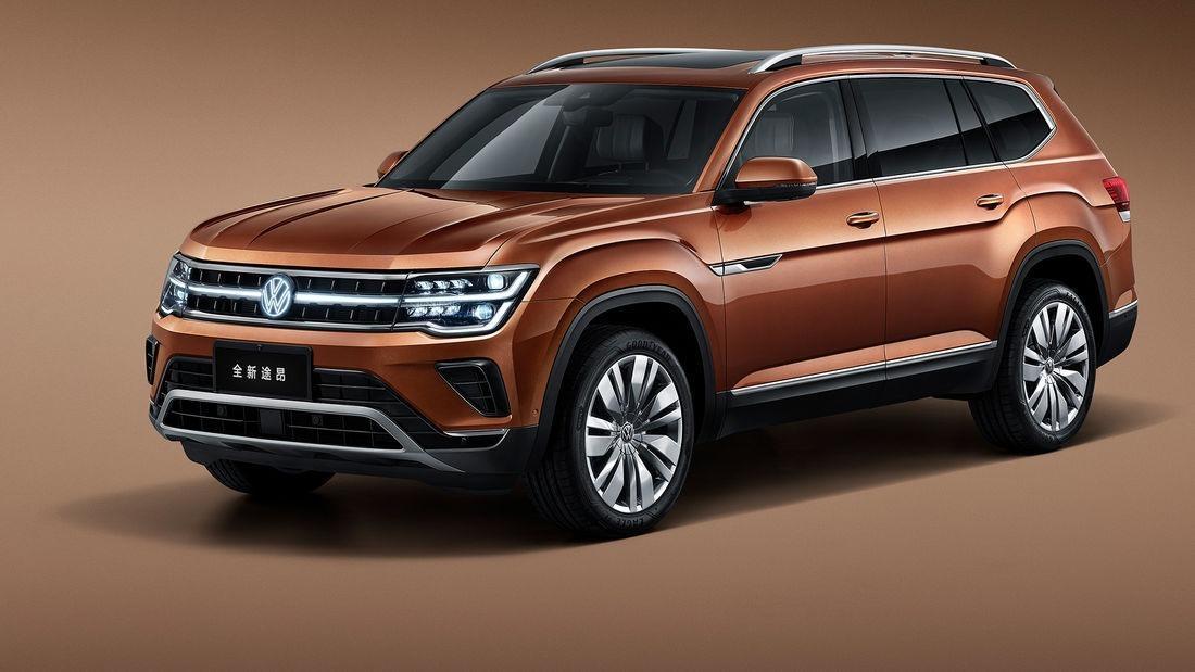 Volkswagen Teramont Facelift 2021, el imponente SUV ahora más elegante en China