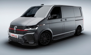 Volkswagen Transporter Sportline Black Edition, el comercial gana agresividad