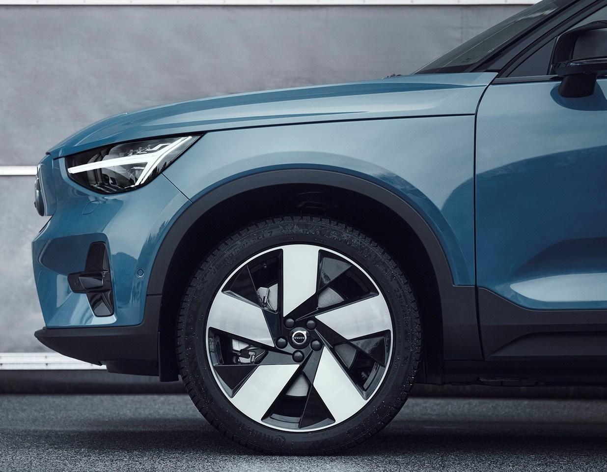Los coches eléctricos de Volvo montarán neumáticos de Todo Tiempo