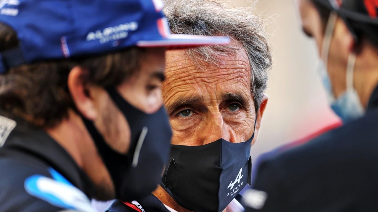 Alain Prost, 'El Profesor': «Sí, hay un 'efecto Alonso' en Alpine»