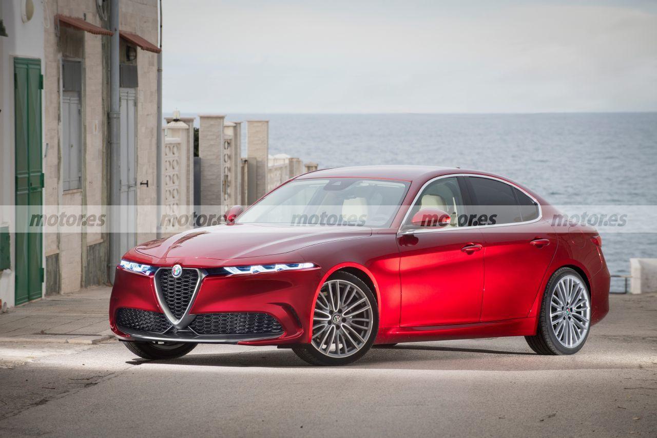 Alfa Romeo Giulia Restyling 2022, revolución estética adelantada en esta recreación