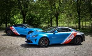 Nueva decoración especial para los Alpine A110 Trackside del Gran Premio de Emilia Romaña