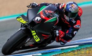 Andrea Dovizioso debuta a los mandos de la Aprilia RS-GP en Jerez