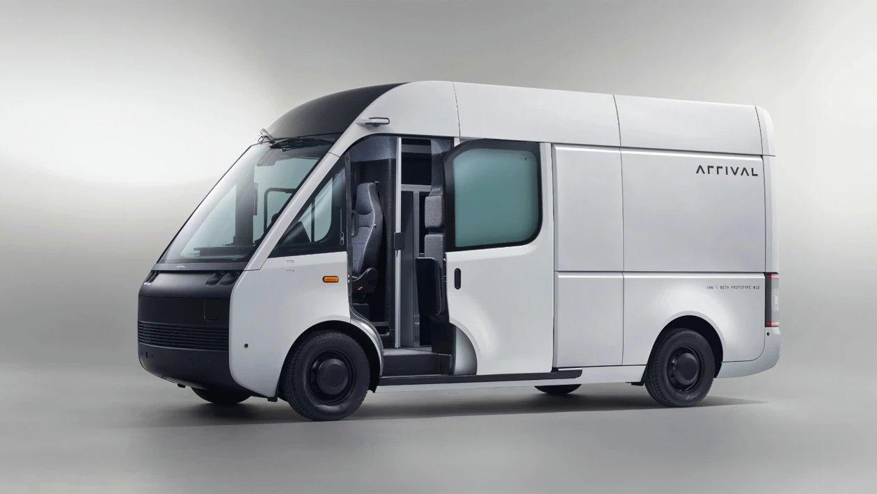 Arrival presenta su furgoneta eléctrica de aluminio y materiales compuestos