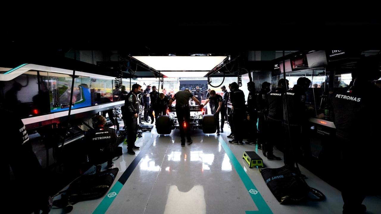 Así se hace la puesta a punto de un Fórmula 1