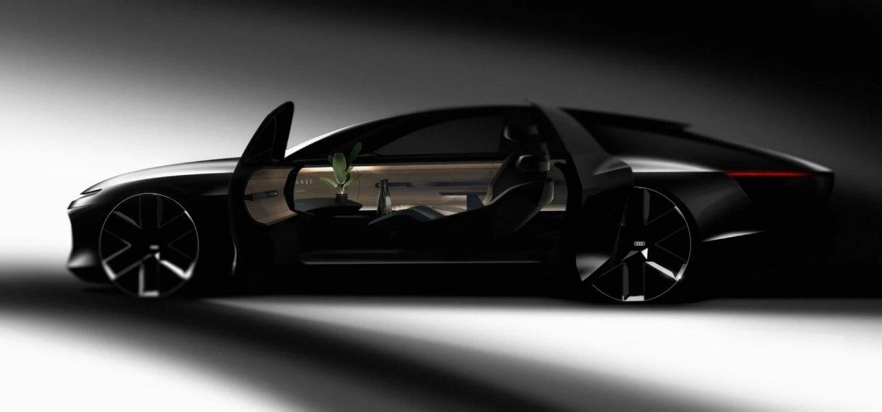 Primer boceto del futuro Audi Landjet 2025, un vistazo al sustituto del A8