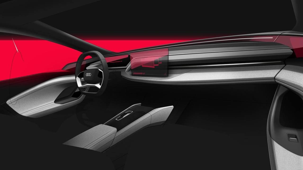 Audi A6 e-tron concept - interior