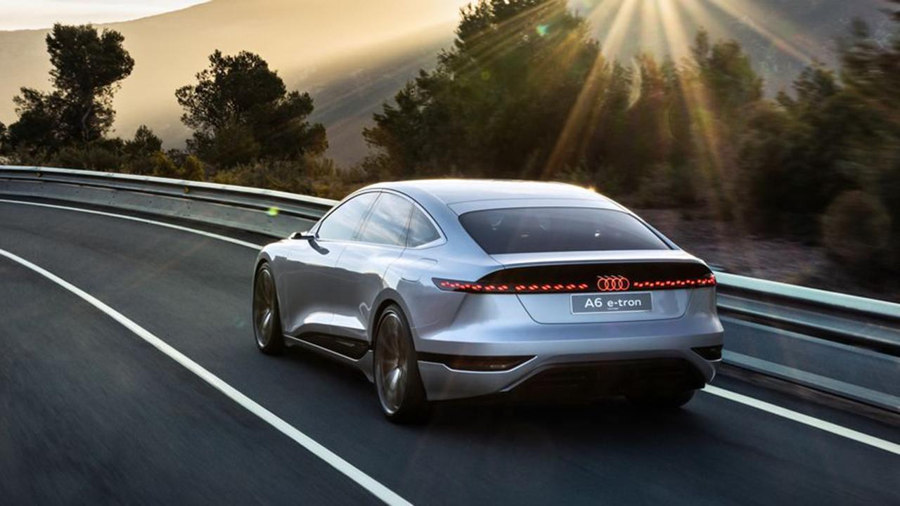 Audi A6 e-tron Concept - posterior