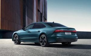 Audi A7 L 2021: presentada en Shanghái la nueva variante alargada y berlina del A7