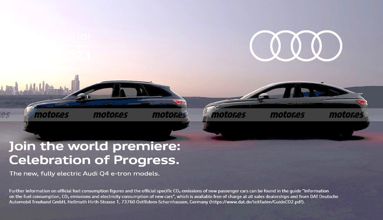 Audi anuncia la presentación de los nuevos Q4 e-tron y Q4 Sportback e-tron