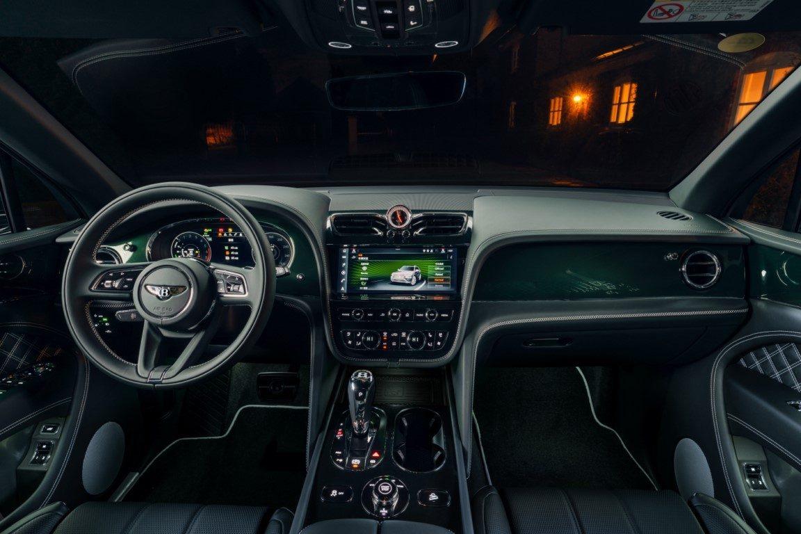 Foto Bentley Bentayga Hybrid Mulliner - interior