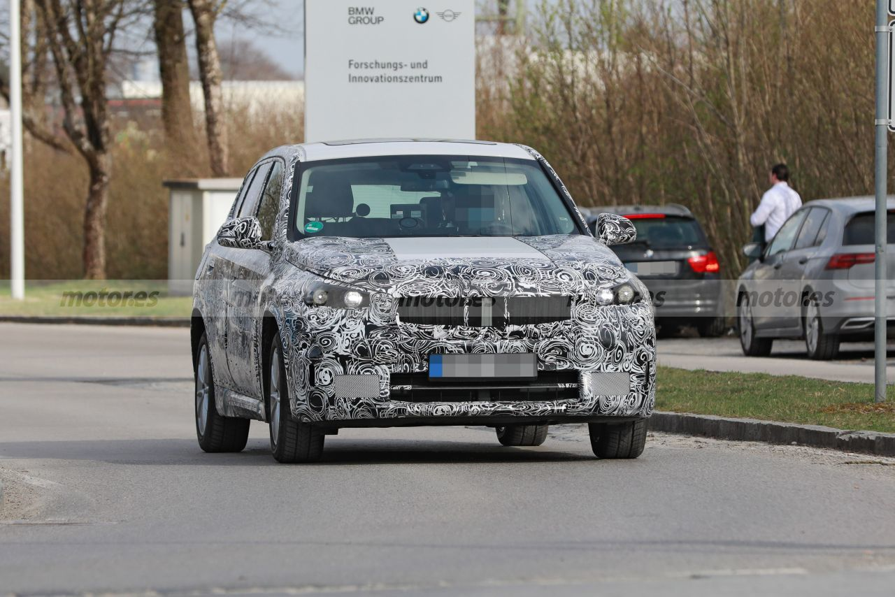 El futuro BMW iX1 2023 se deja ver de nuevo durante sus tests