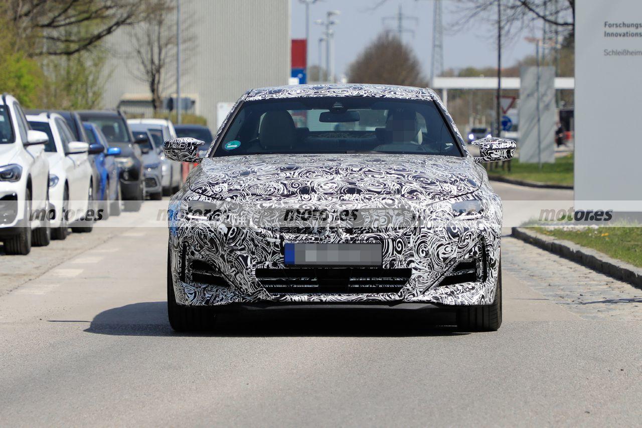 Dos prototipos del BMW Serie 2 Coupé 2022 se destapan en nuevas fotos espía