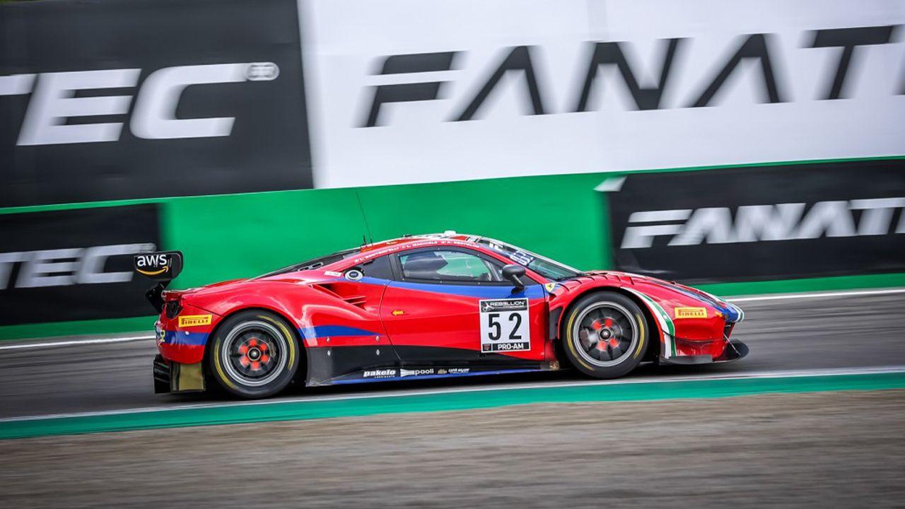 Bontempelli y AF Corse dominan el 'Bronze Test' de las 3 Horas de Monza