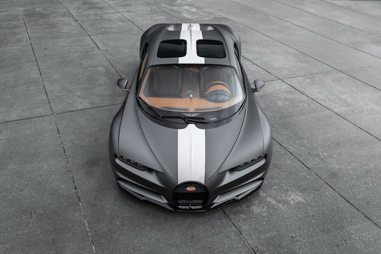 Bugatti presenta el exclusivo Chiron Sport 'Les Legendes du Ciel'