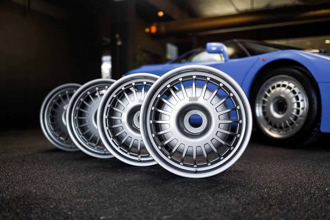 Las llantas del Bugatti EB110 cuestan lo que un utilitario y aún así son una ganga