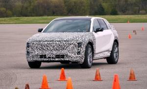 Nuevas imágenes de los prototipos de desarrollo del Cadillac Lyriq 2023