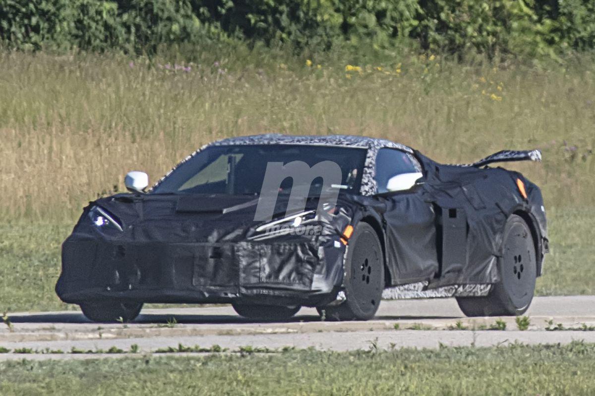 El futuro Chevy Corvette Z06 tendrá las ruedas más grandes montadas jamás en un 'Vette