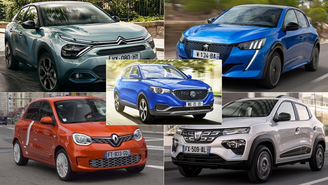 5 coches eléctricos asequibles gracias al Plan MOVES III
