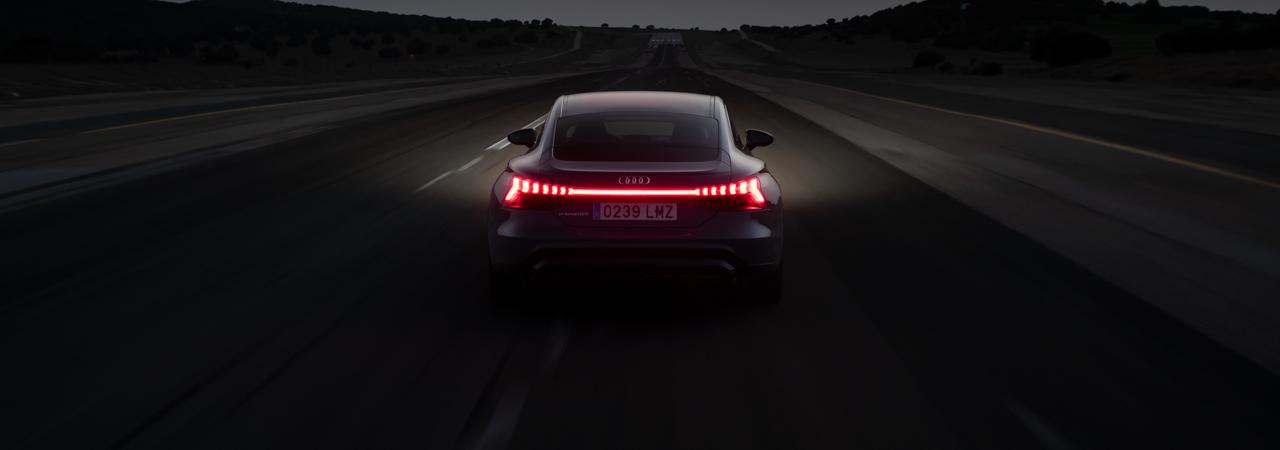 Prueba Audi e-tron GT, una primera toma de contacto muy intensa