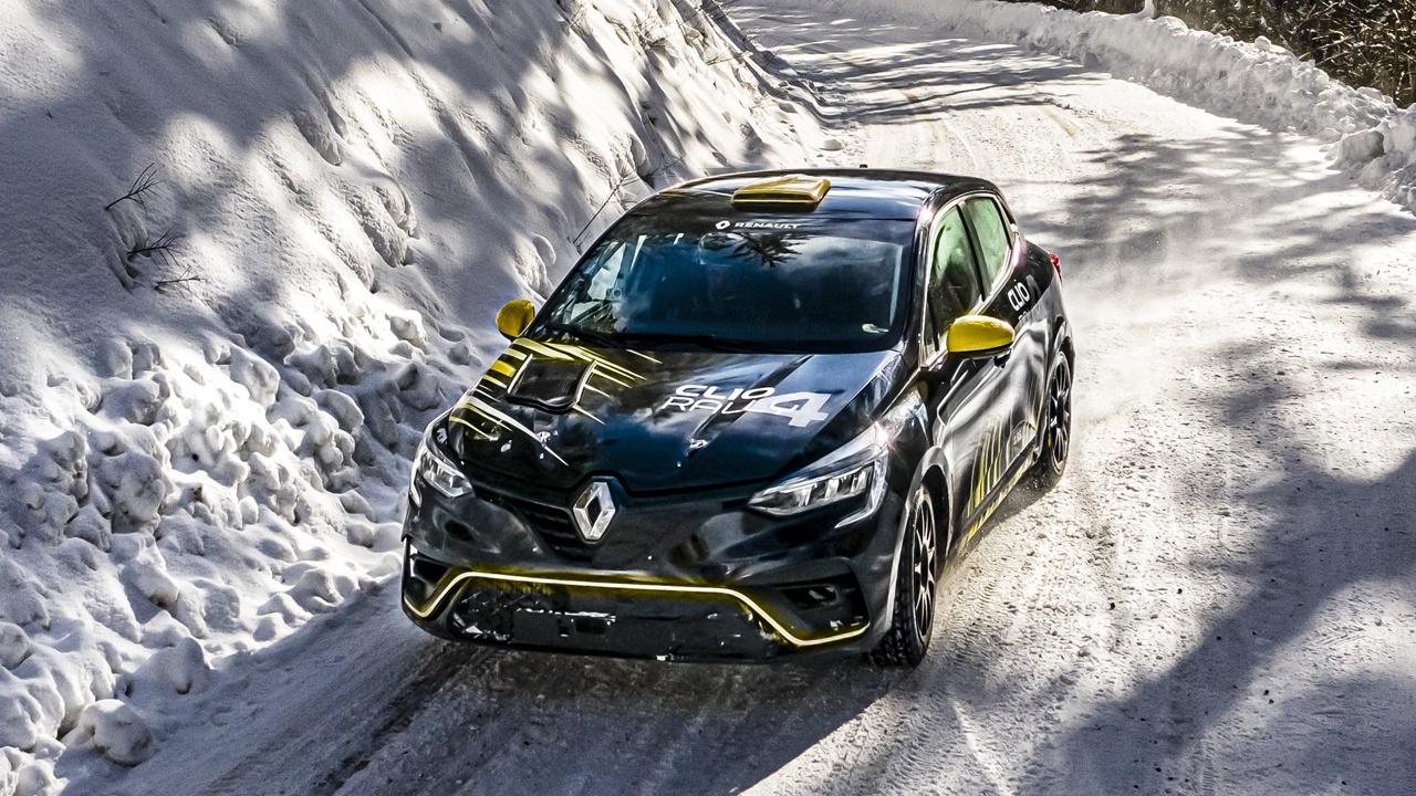 El Renault Clio Rally4 ya tiene luz verde tras superar la homologación FIA