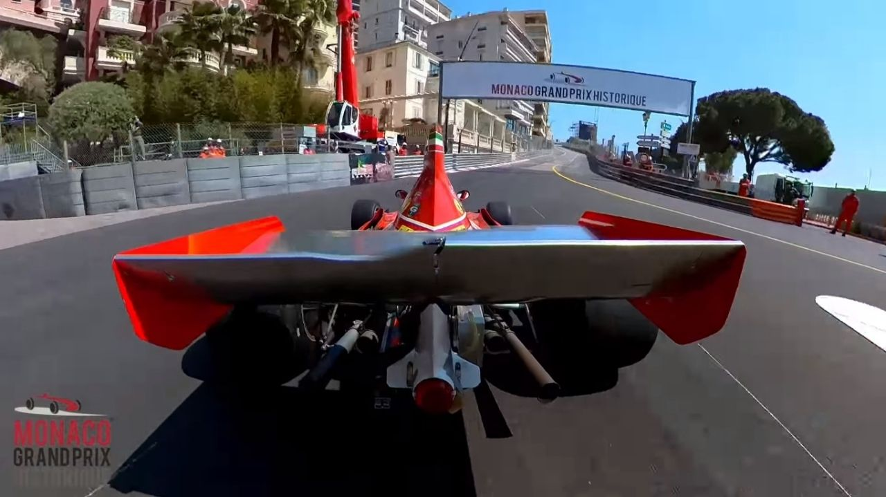 Ni híbridos, ni eléctricos: los F1 históricos se reunieron en Mónaco (vídeo)