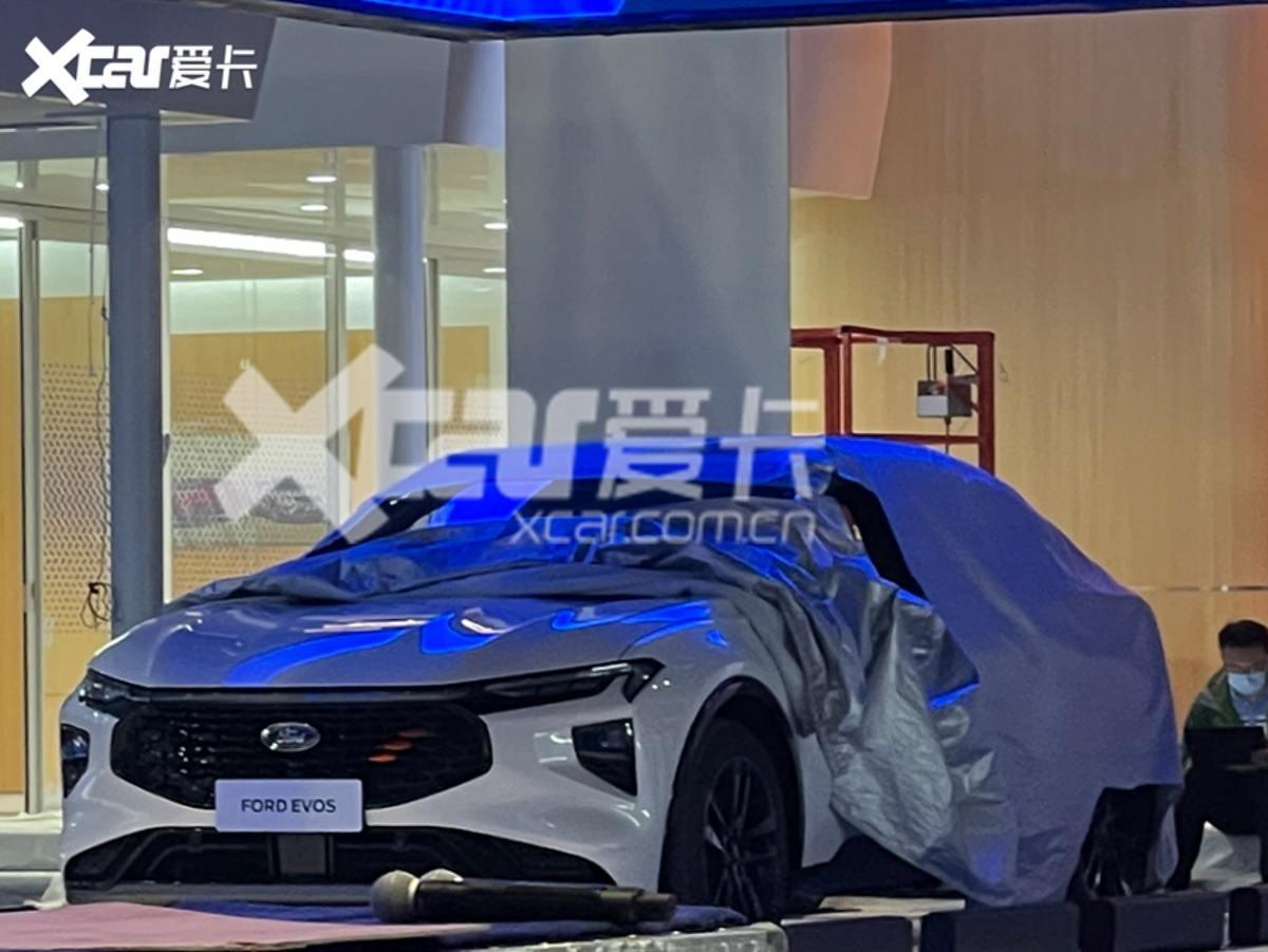 ¡Filtrado! El nuevo Ford Mondeo Evos muestra su frontal días antes de su debut