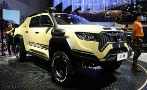 El Great Wall Cannon Baja Snake es un deportivo pick-up con inspiración Shelby